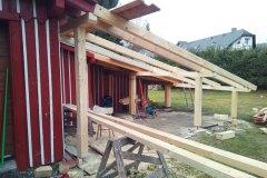 Přístavba k přístavbě